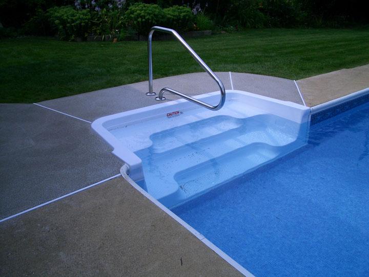 Inground Pool Steps Replacement Bing Images